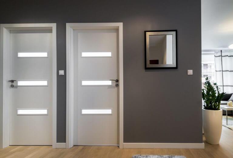 drzwi wewnętrzne lewe prawe