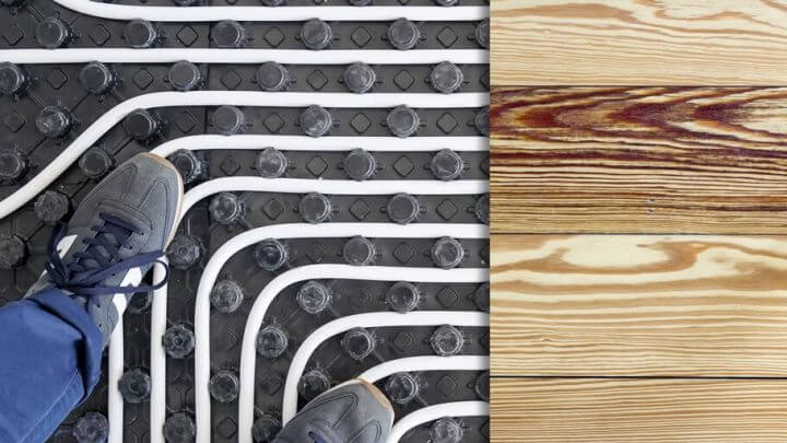 Ogrzewanie podłogowe a podłogi drewniane